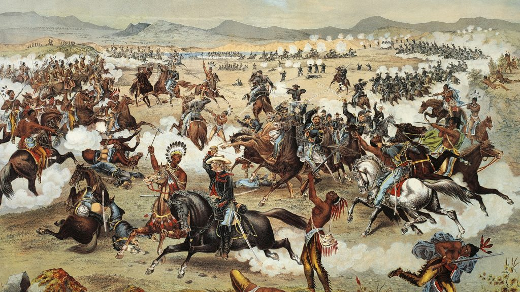 events about the native american indians in the battle of the little big horn The major effect of the battle of the little bighorn (where custer and his men got annihilated) was that it really got americans in general very angry at the indians and much more motivated to end.